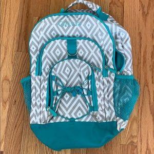 PB Teen Monogrammed Backpack